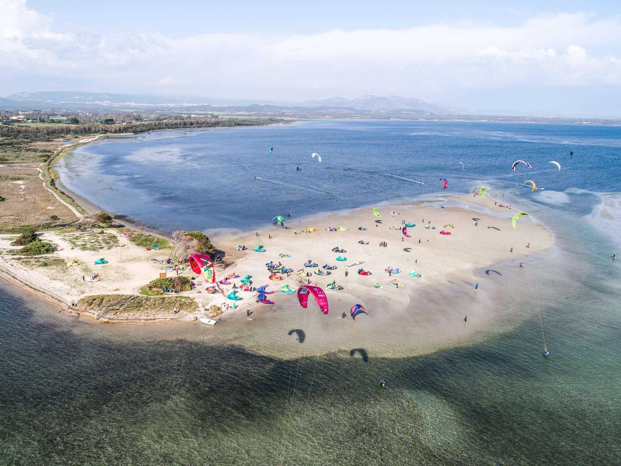 Il miglior kite spot della Sardegna: Punta Trettu Kite Beach