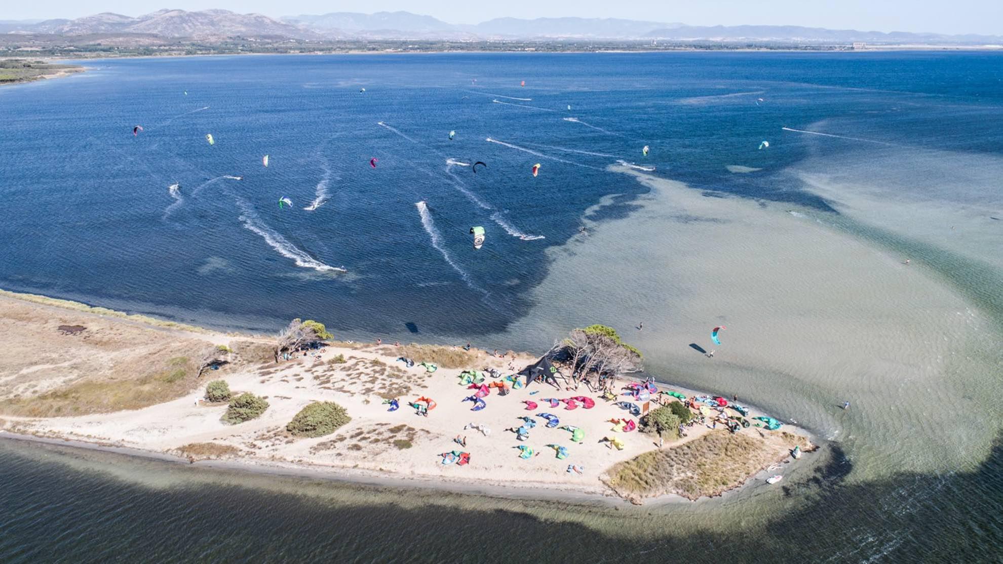 Punta Trettu Kite Beach Il miglior kite spot della Sardegna