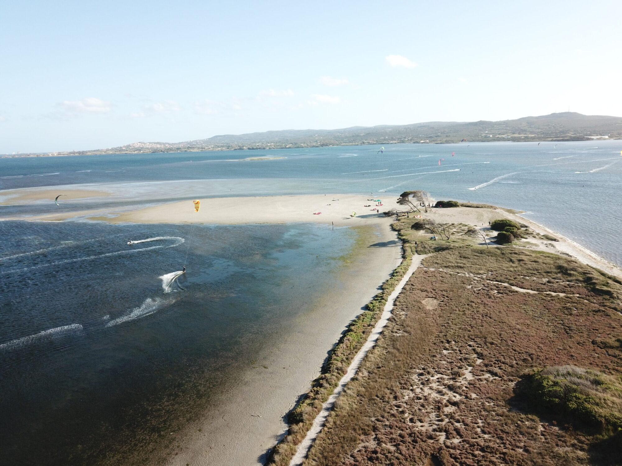 Punta Trettu, The best Kite Spot of Sardinia