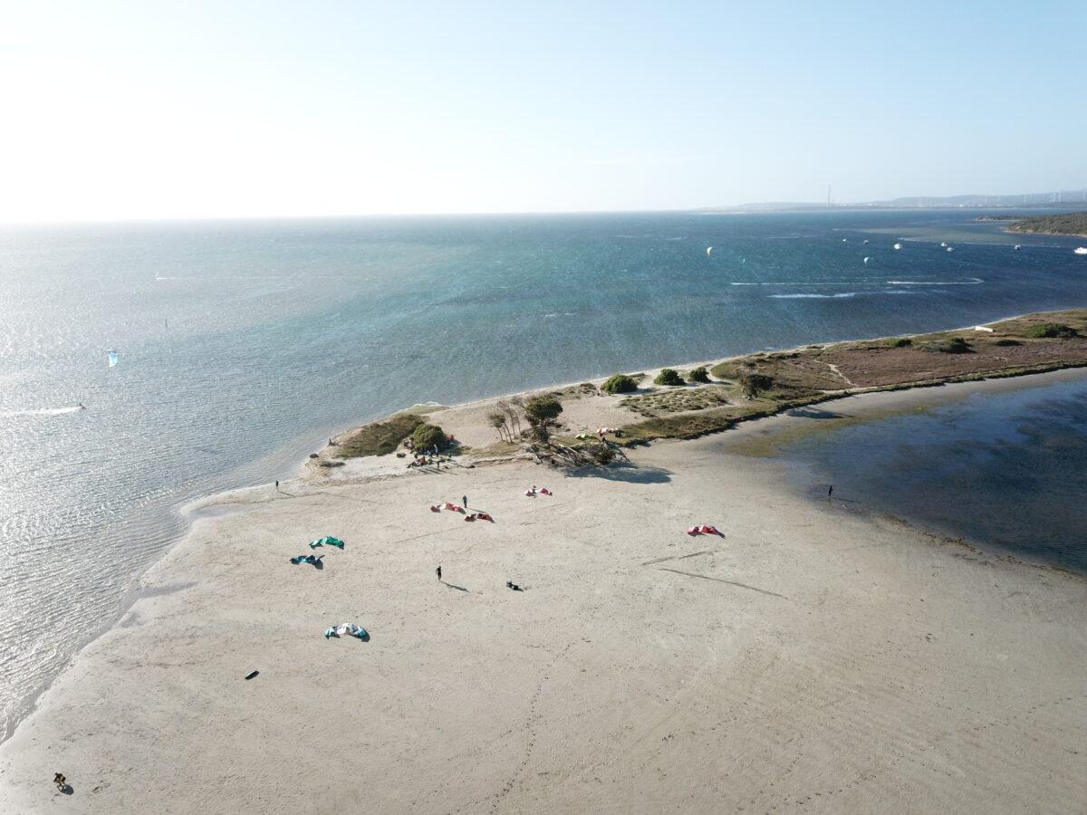 The Best Kite Spot of Sardinia: Punta Trettu Kite Beach